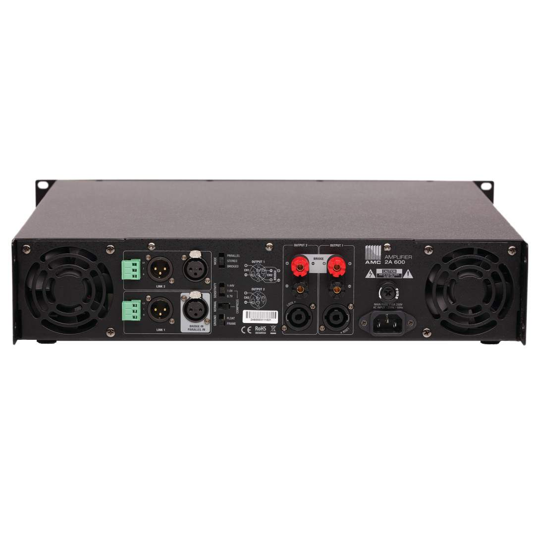 A Professional Power Amplifiers Amc Pro Audio Amplifier Basics Modern Stereo System Has Two 2a 600 Channel