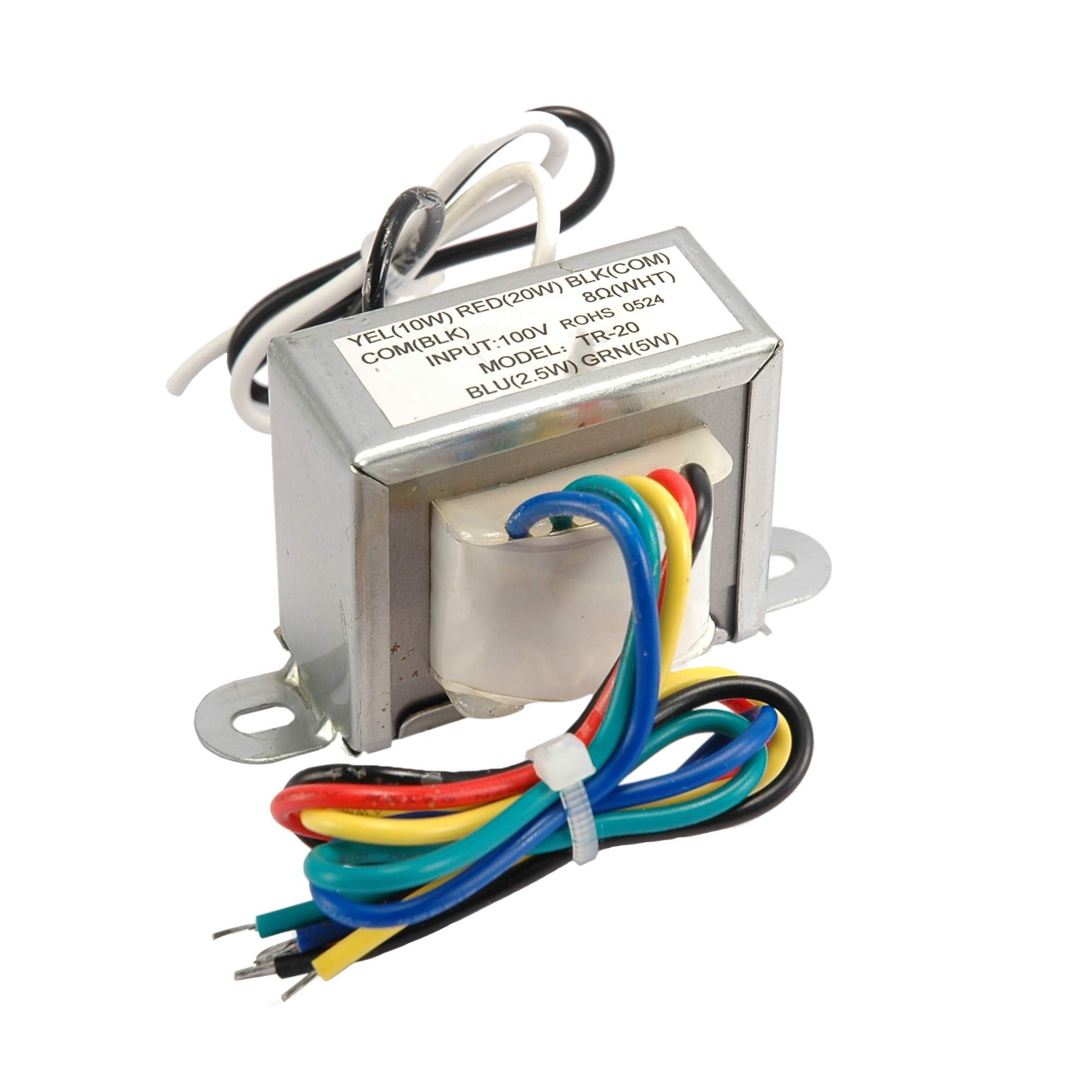 search  audio line transformer 24w 100v