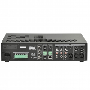 MMA 120X 5 zone mixing amplifers with interchangeable module and zone paging microphone