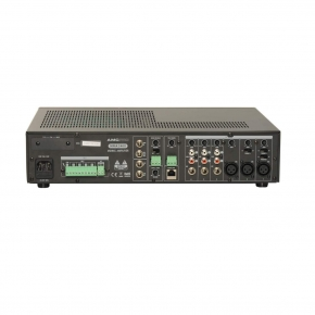 MMA 240X 5 zone mixing amplifers with interchangeable module and zone paging microphone
