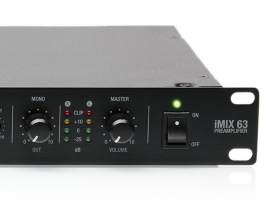 iMIX stereo mixing preamplifiers