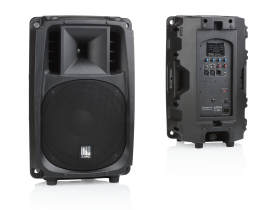 POWER BOX powered plastic loudspeakers