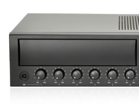 MMA five zone mixing amplifiers with interchangeable module
